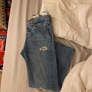 Wedgie fit straight women's Levi's